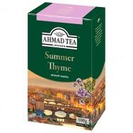 Ахмад Черный чай с чабрецом 100g