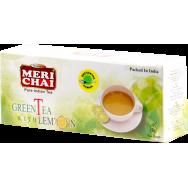 "Мери чай ""green tea with lemon"" 25 пак."
