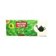 """Мери чай """"green tea"""" 25 пак."""