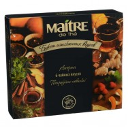 "Чай Maitre (мэтр) набор ассорти ""Букет изысканных вкусов"" 30пак."