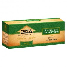"Чай Cupful (капфул) ""English tradition"" зеленый 25 пак."