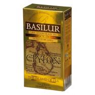 Чай Basilur (Базилюр) «Чайный остров Цейлон» Золотой/ Gold OP1