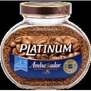 """Кофе Ambassador (амбассадор) """"Platinum"""" Decaffeinated 95g"""